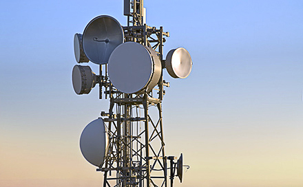 Tower with Wireless Radios